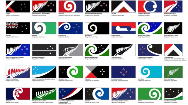 Possible Choices for a New NZ flag